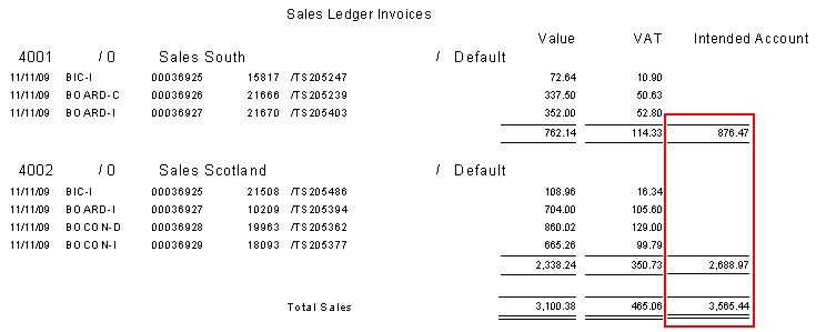 More Totals On Sage Link For Tempaid Report All About Sage Link - Invoice value